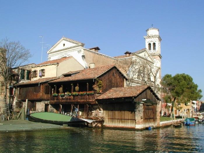 Venice Gondola Factory